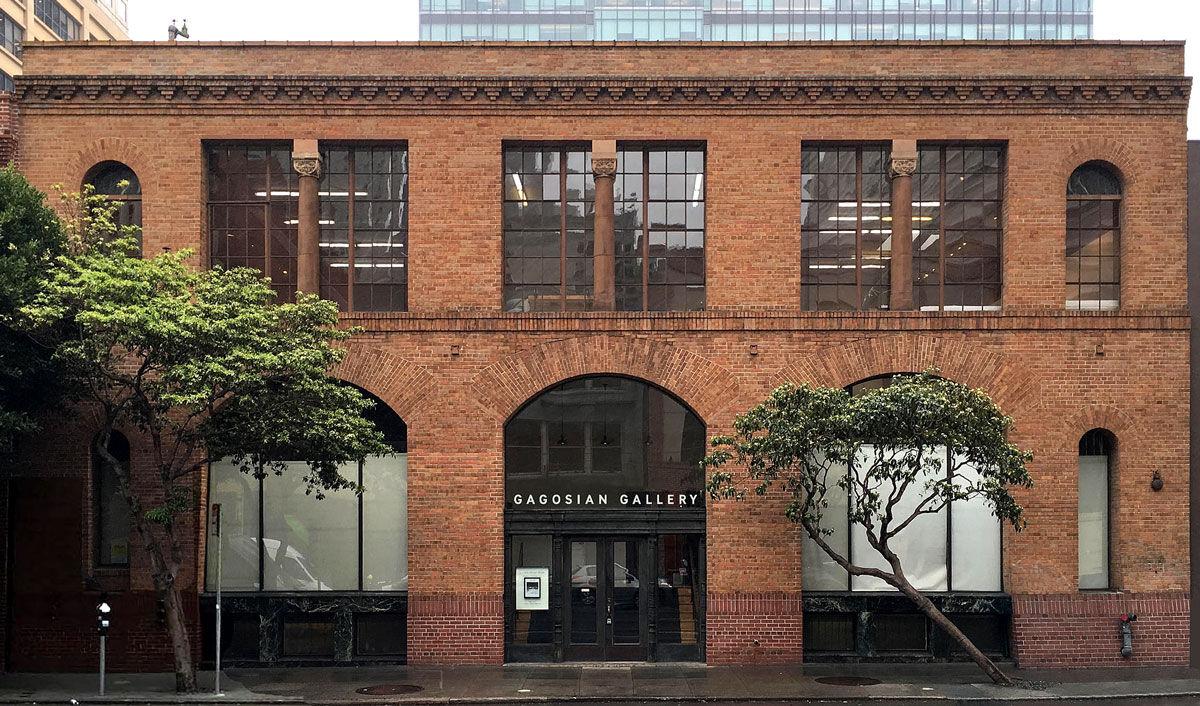 Facade of Gagosian San Francisco.© M-PROJECTS. Courtesy of Gagosian Gallery.