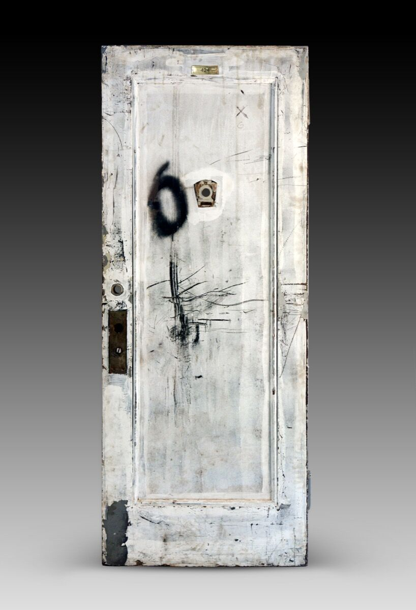 Janis Joplin's door at the Chelsea Hotel. Courtesy of Guernsey's.