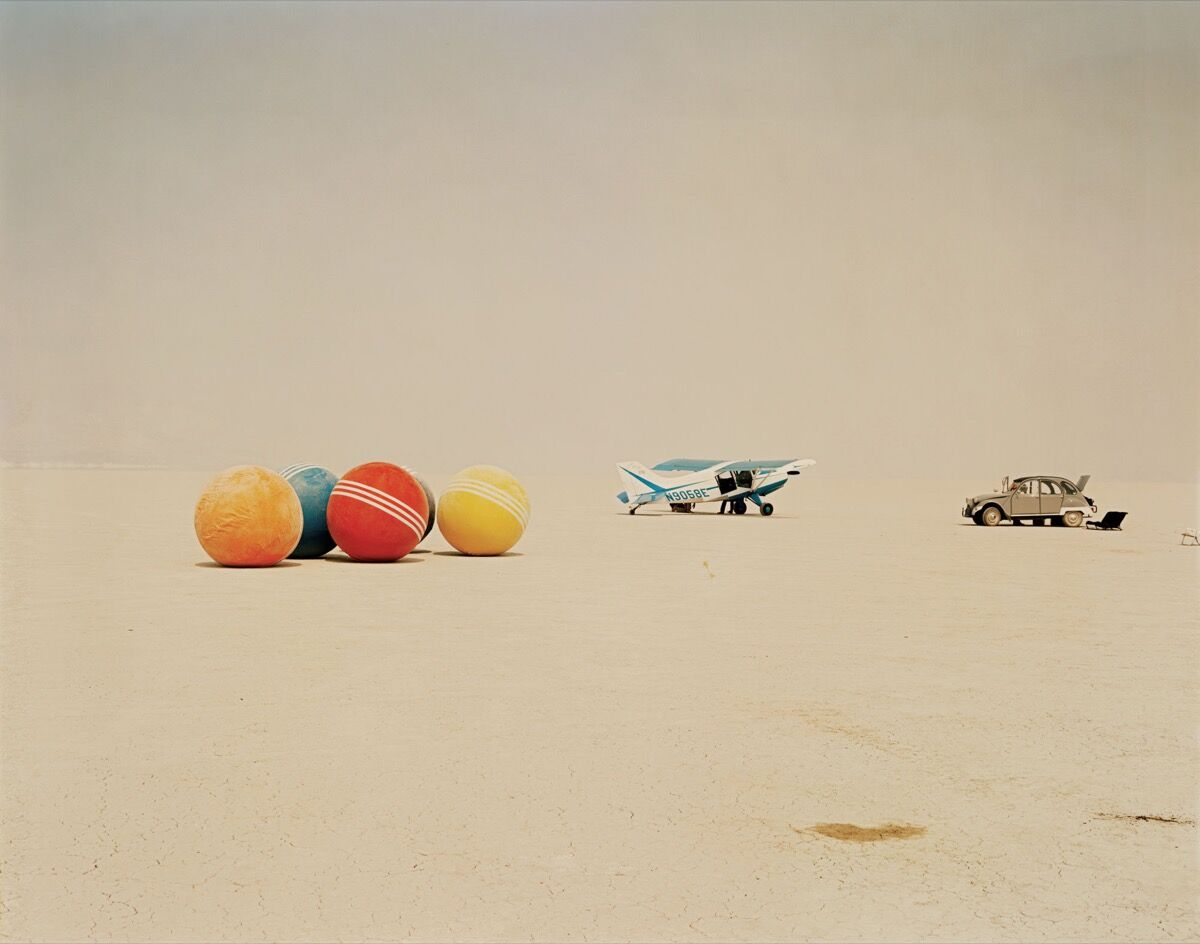 Croquet X Machina, 1987. Photo by Richard Misrach. Courtesy of The California Sunday Magazine.