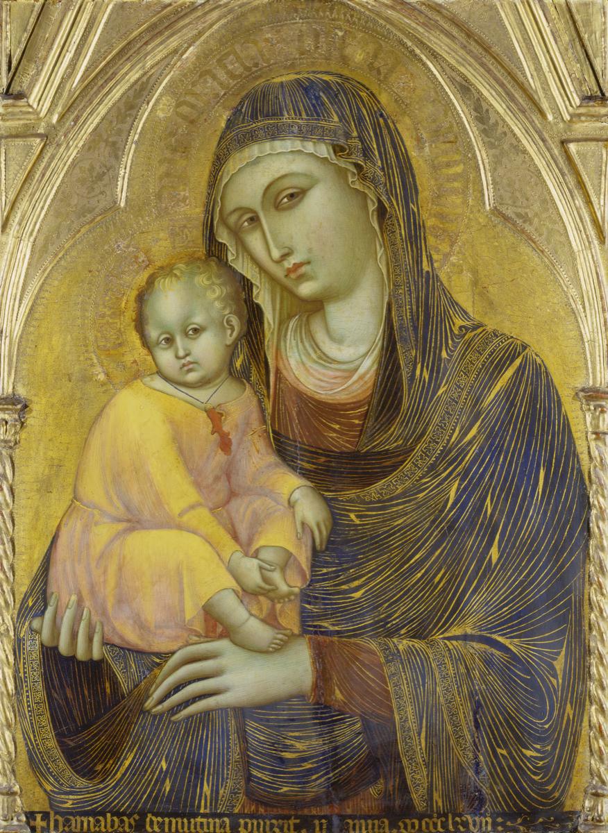 Barnaba da Modena, Madonna With Child, 1367. Courtesy of Städel Museum.
