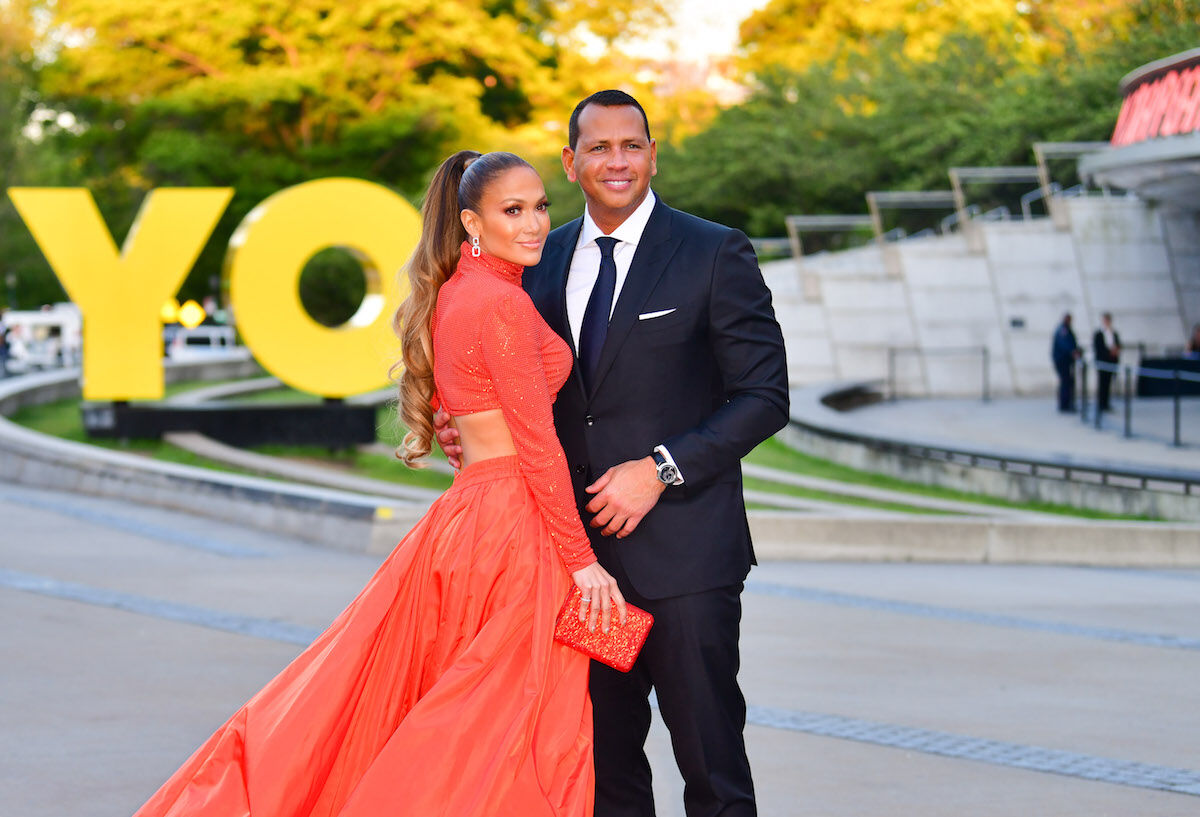 Alex Rodriguez and Jennifer Lopez arriving at an event at the Brooklyn Museum this month. Photo by James Devaney/GC Images.