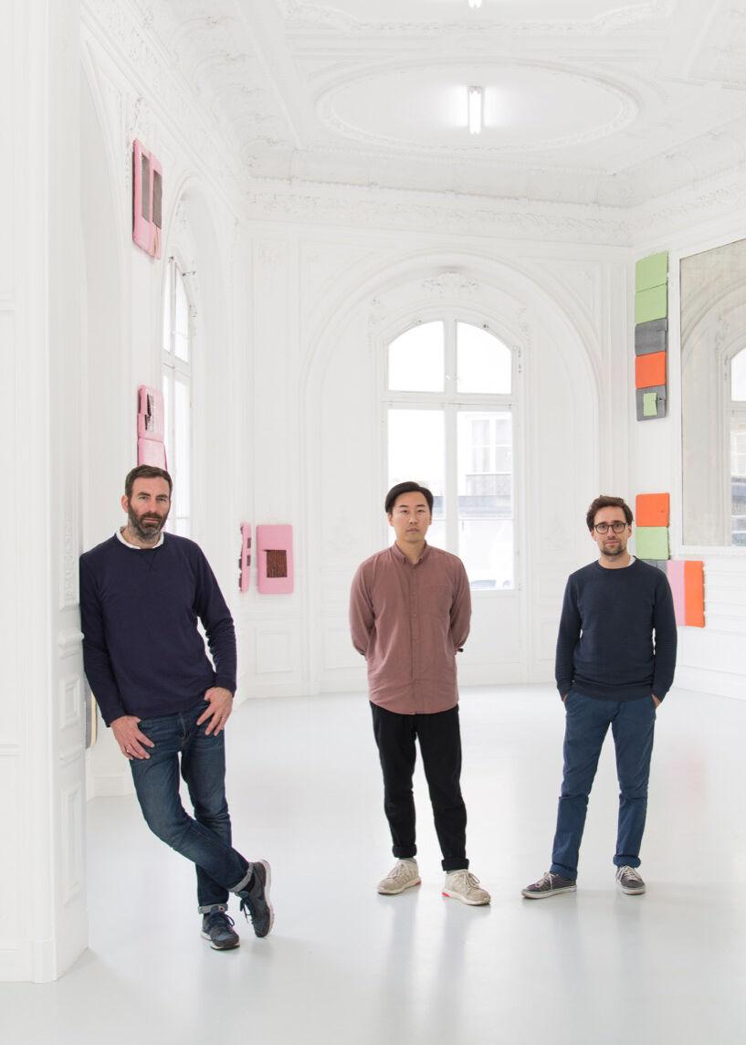Philippe Joppin, Jason Hwang, Romain Chenais  in High Art. Courtesy of High Art.