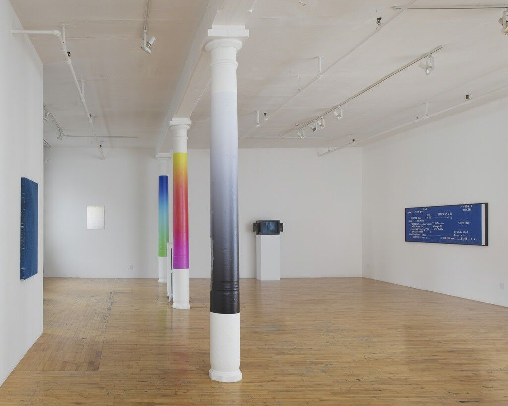 "Installation view of ""Figure 8"" courtesy Clifton Benevento."