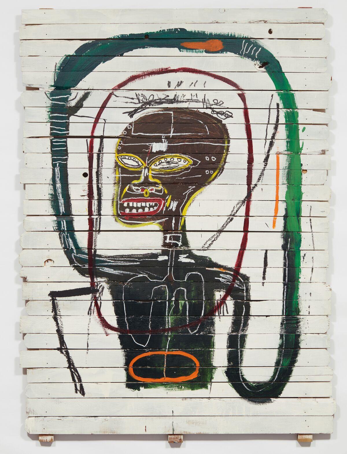 Jean-Michel Basquiat, Flexible, 1984. Courtesy of Phillips.