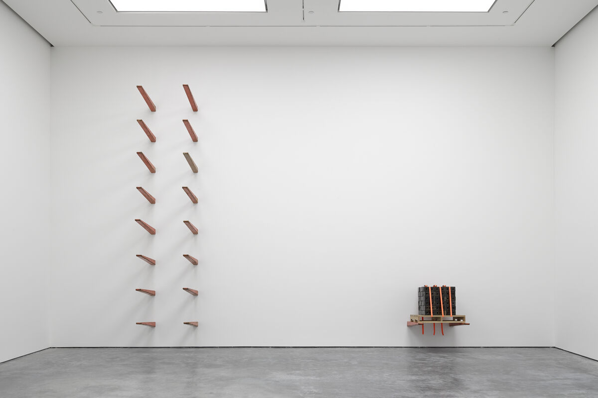 "Theaster Gates, ""Freedom of Assembly,"" White Cube Bermondsey, London. 29 April - 5 July 2015. © Theaster Gates. Photo: White Cube (Ben Westoby)"