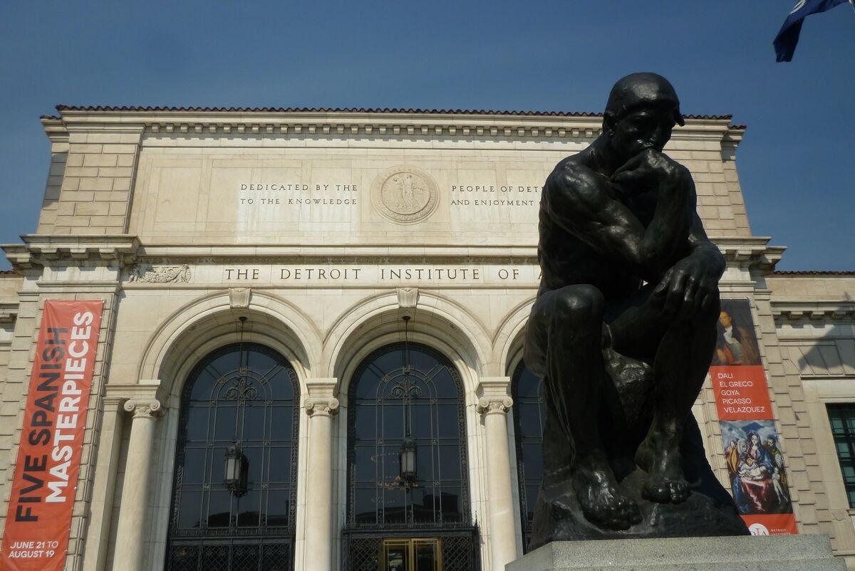 The Detroit Institute of Art. Image via Flickr.