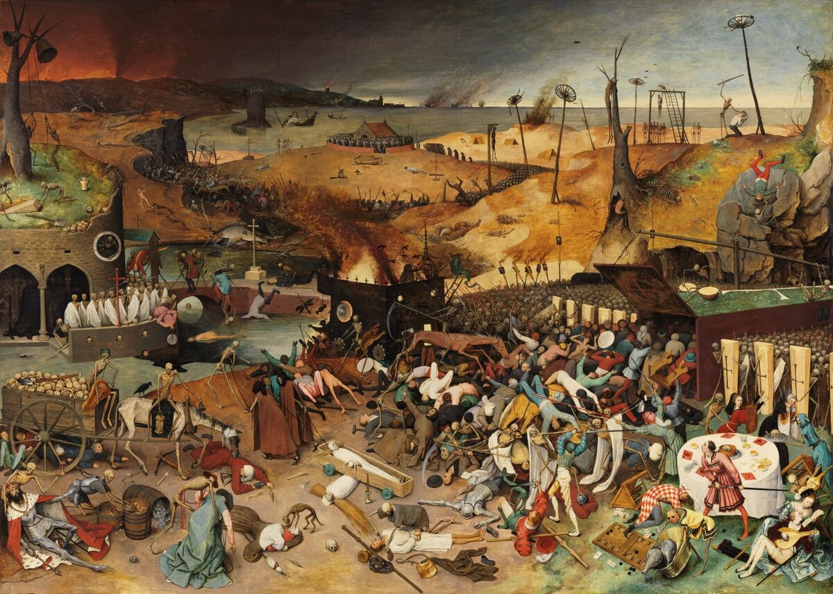 Pieter Bruegel the Elder, The Triumph of Death, 1562–63. Courtesy of Museo Nacional del Prado.