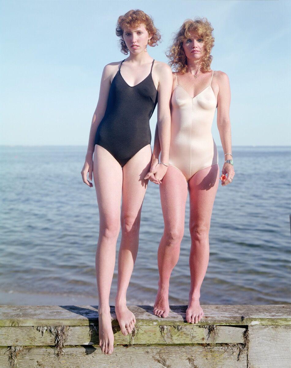 "Joel Meyerowitz , Caroline and Margaret, 1983, from ""Joel Meyerowitz: Provincetown."" © Joel Meyerowitz. Courtesy of Aperture."