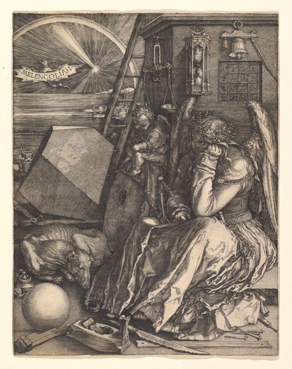 Albrecht Dürer, Melencolia I, 1514. Courtesy of The Metropolitan Museum of Art.