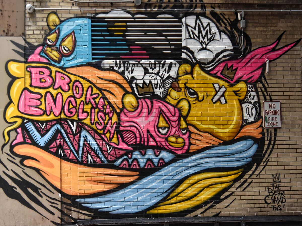 Mural by JC Rivera, Chicago. Photo by Terence Rivera, via Flickr