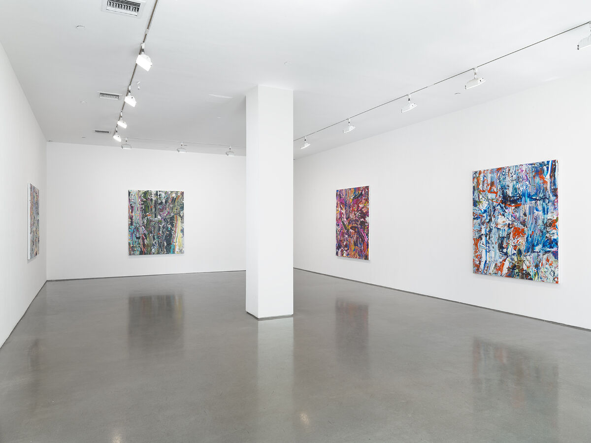 Installation view of Michael Reafsnyder at Ameringer | McEnery | Yohe, New York. CourtesyAmeringer | McEnery | Yohe and the artist