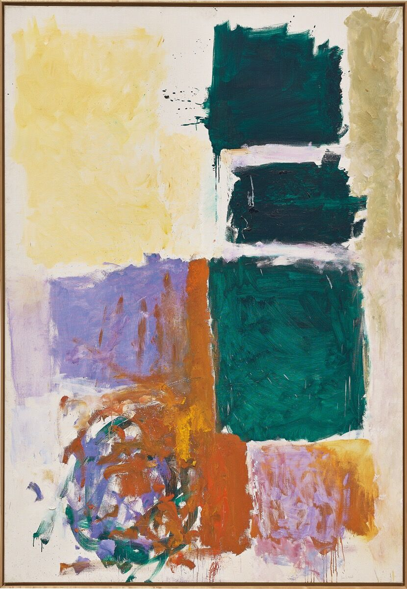 Joan Mitchell, Perch and Twirl, 1973. Courtesy of Phillips.