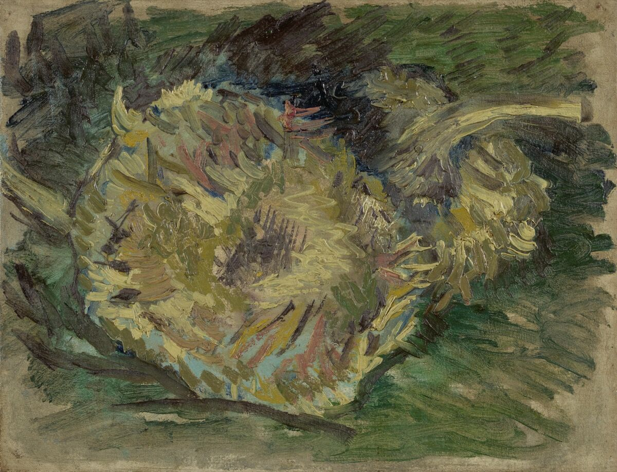 Vincent van Gogh, Sunflowers Gone to Seed, 1887. Courtesy of the Van Gogh Museum.
