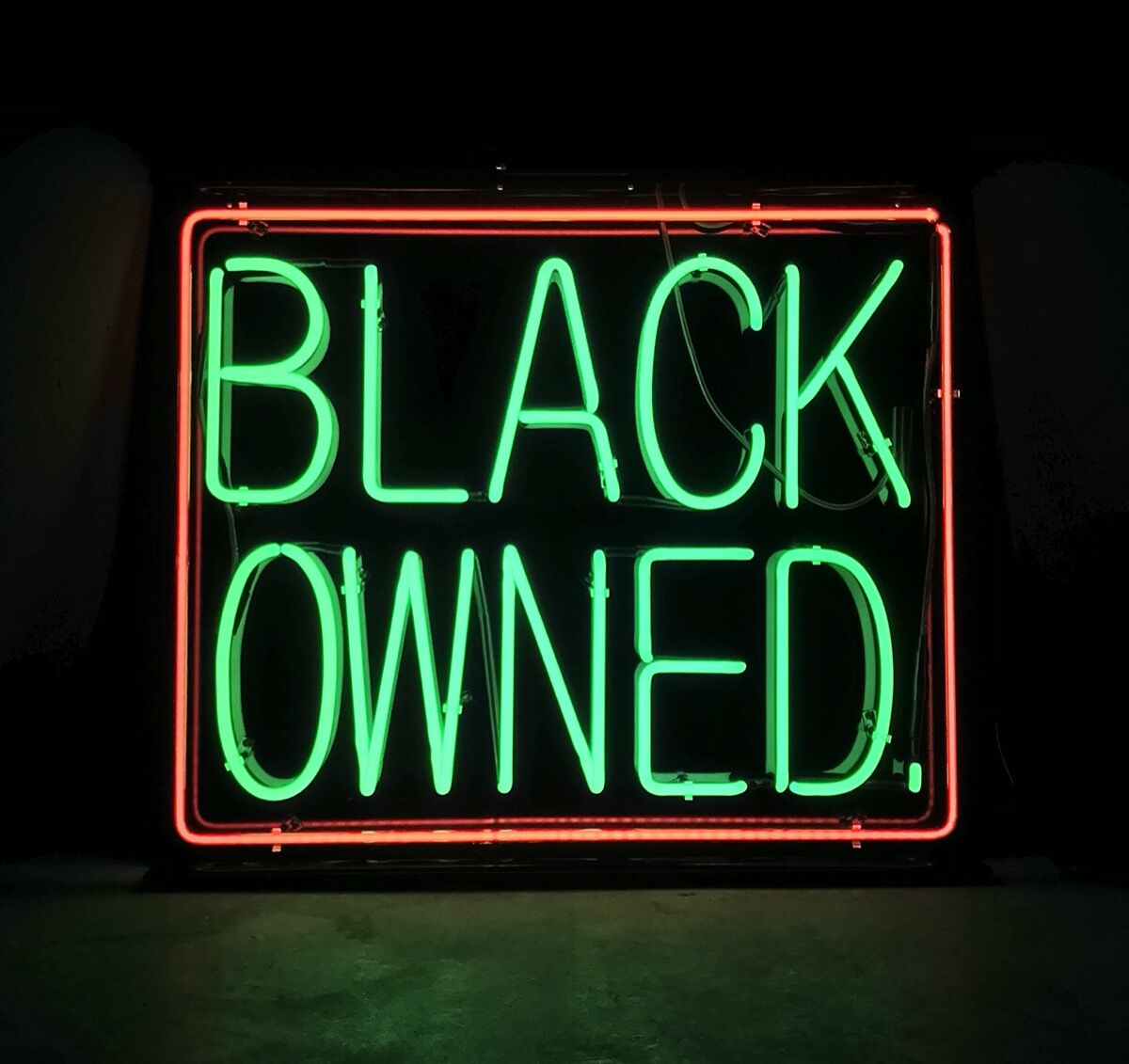 Patrick Martinez, Black Owned 2, 2020. Courtesy of the artist and Residency Art Gallery.
