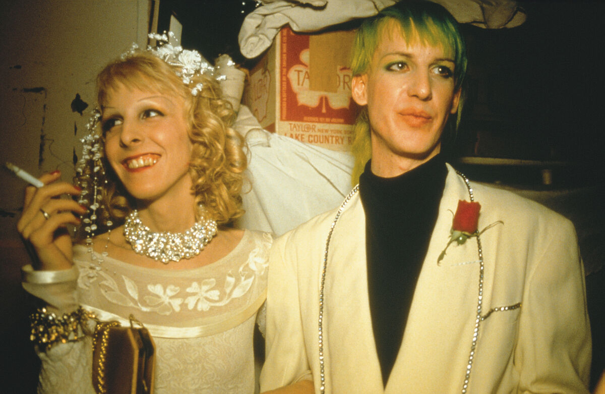 Nan Goldin, Greer and Paul's wedding, NYC, 1987. Courtesy of the artist and Marian Goodman Gallery