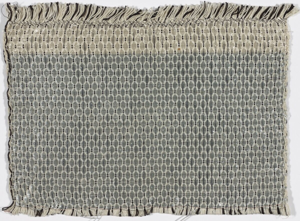 Gunta Stölzl, Textile Sample for Curtain, c. 1927. © 2017 Artists Rights Society (ARS), New York / VG Bild-Kunst, Bonn. Courtesy of The Museum of Modern Art, NY.