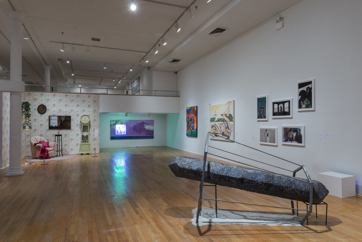 """Installation view of """"Fictions"""" at the Studio Museum. Courtesy of the Studio Museum."""