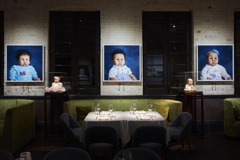 """Jamie Diamond, """"Dolls' House,"""" at Prada Mode"""