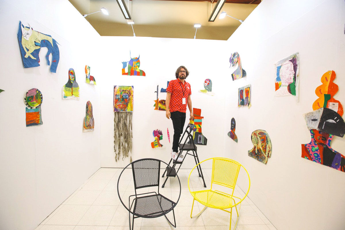 Installation view of MECA, 2017. Courtesy of MECA 2017.