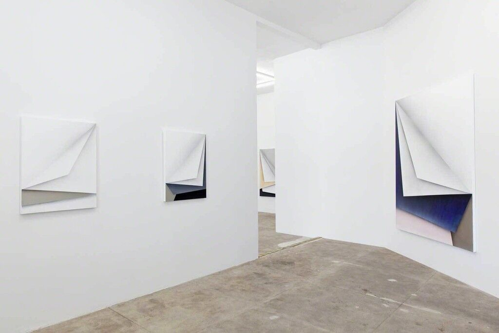 "Installation view of ""Ira Svobodová: Papercut"" at CES Gallery, Los Angeles. Courtesy CES Gallery and the artist."