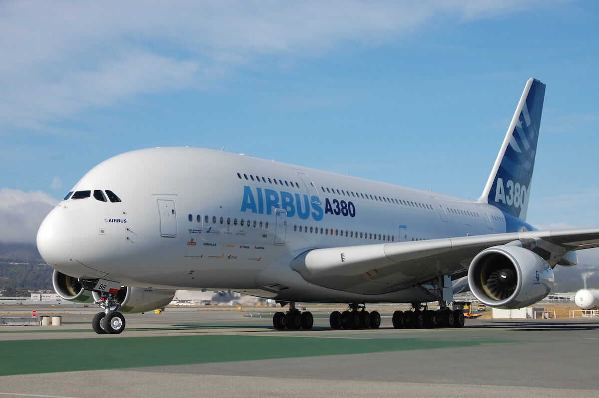 An Airbus plane. Photo by Todd Lappin, via Flickr.