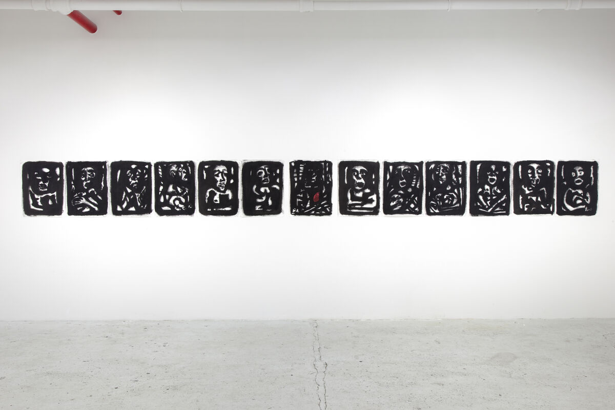 Alexis de Chaunac, Polyptych — The Last Supper, 2015, courtesy of the artist and ART 3