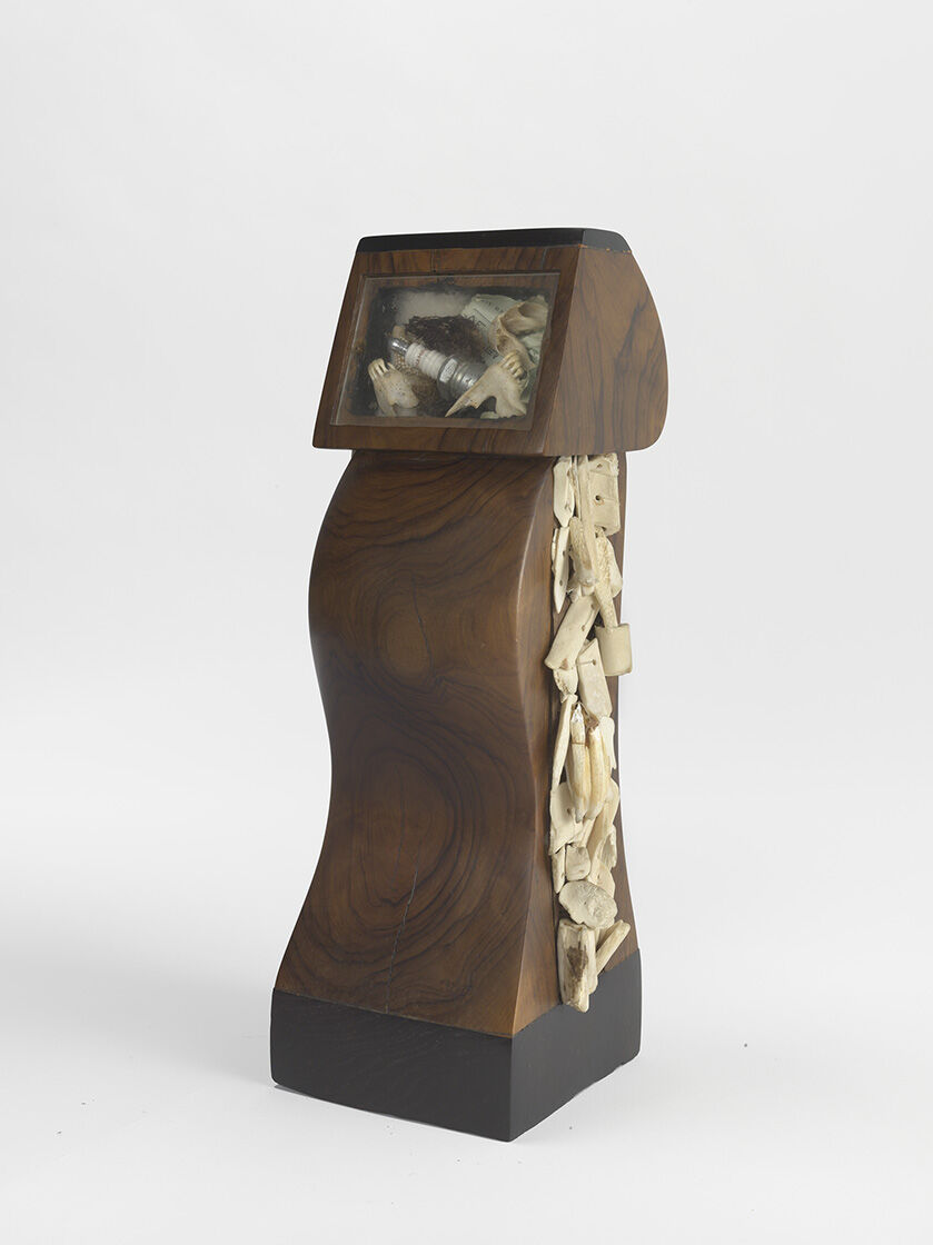 Jack Whitten, Pregnant Owl, 1983-1984. Courtesy of Mirsini Amidon and the Baltimore Museum of Art.