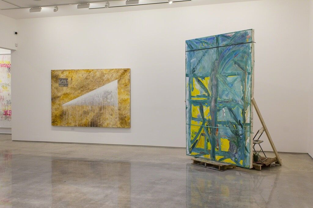 """Installation view of """"Unbound,"""" Edward Cella Art and Architecture, Los Angeles. Courtesy Edward Cella Art and Architecture."""