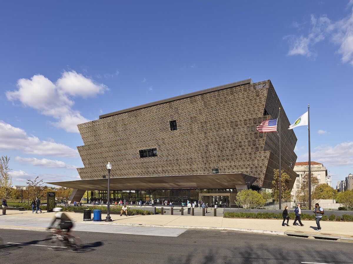 The National Museum of African American History and Culture in Washington, D.C. Photo by and courtesy Alan Karchmer/NMAAHC.