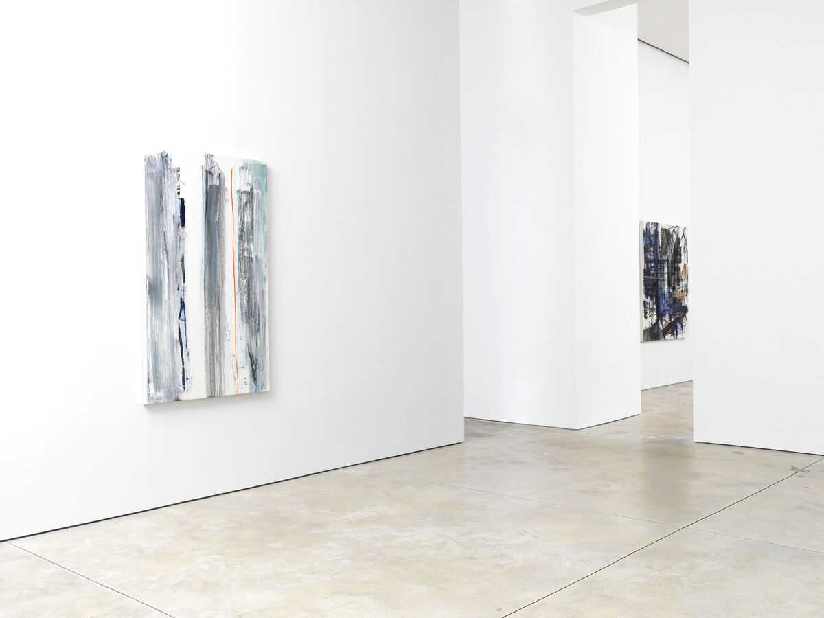 "Installation view of ""Louise Fishman"" at Cheim & Read, New York. Courtesy of Cheim & Read, New York."