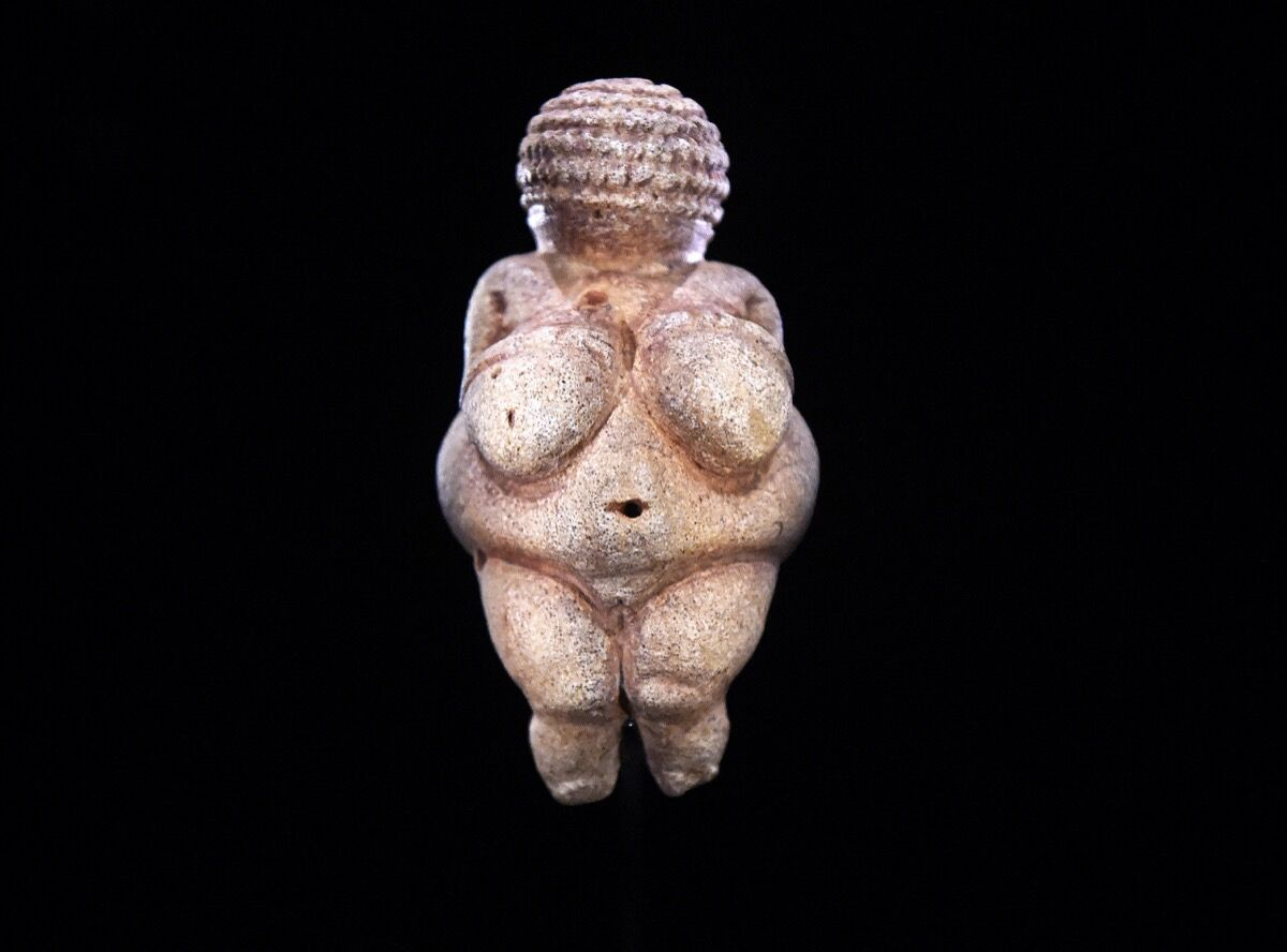Venus of Willendorf, c. 28,000–25,000 B.C. Image by Helmut Fohringer / AFP / Getty Images.