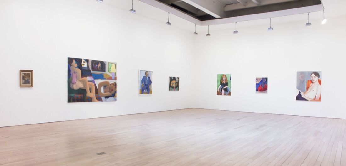 "Installation view of ""Intimisms"" at James Cohan, New York. Photo courtesy of James Cohan."