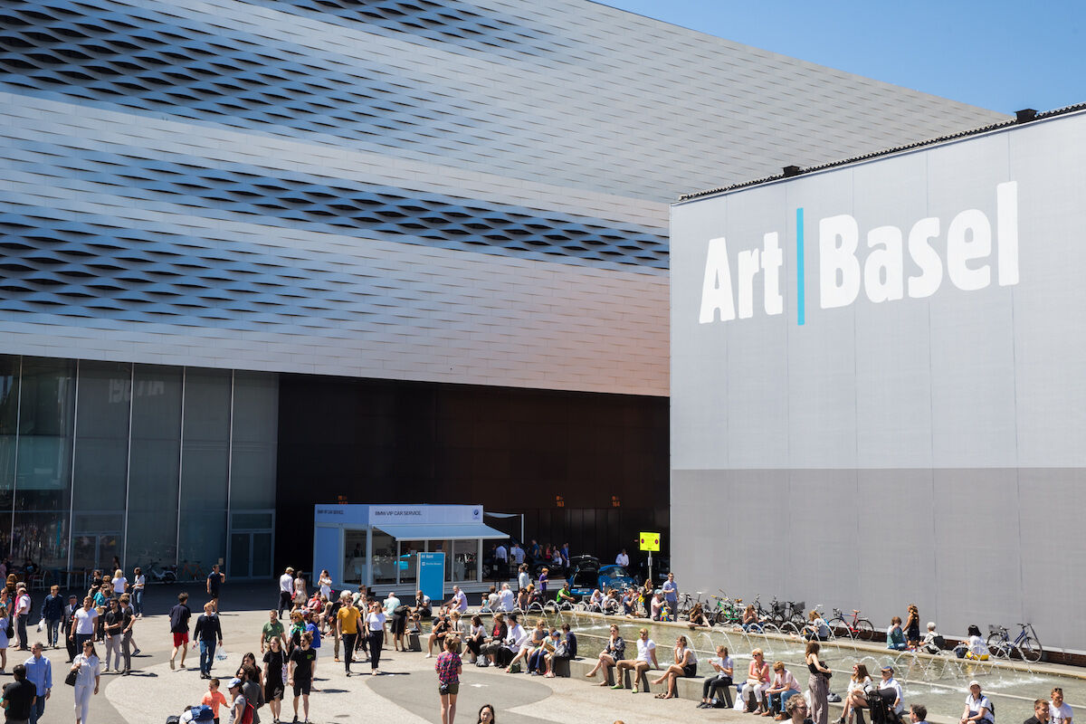 The 2019 edition of Art Basel in Basel. Photo © Art B