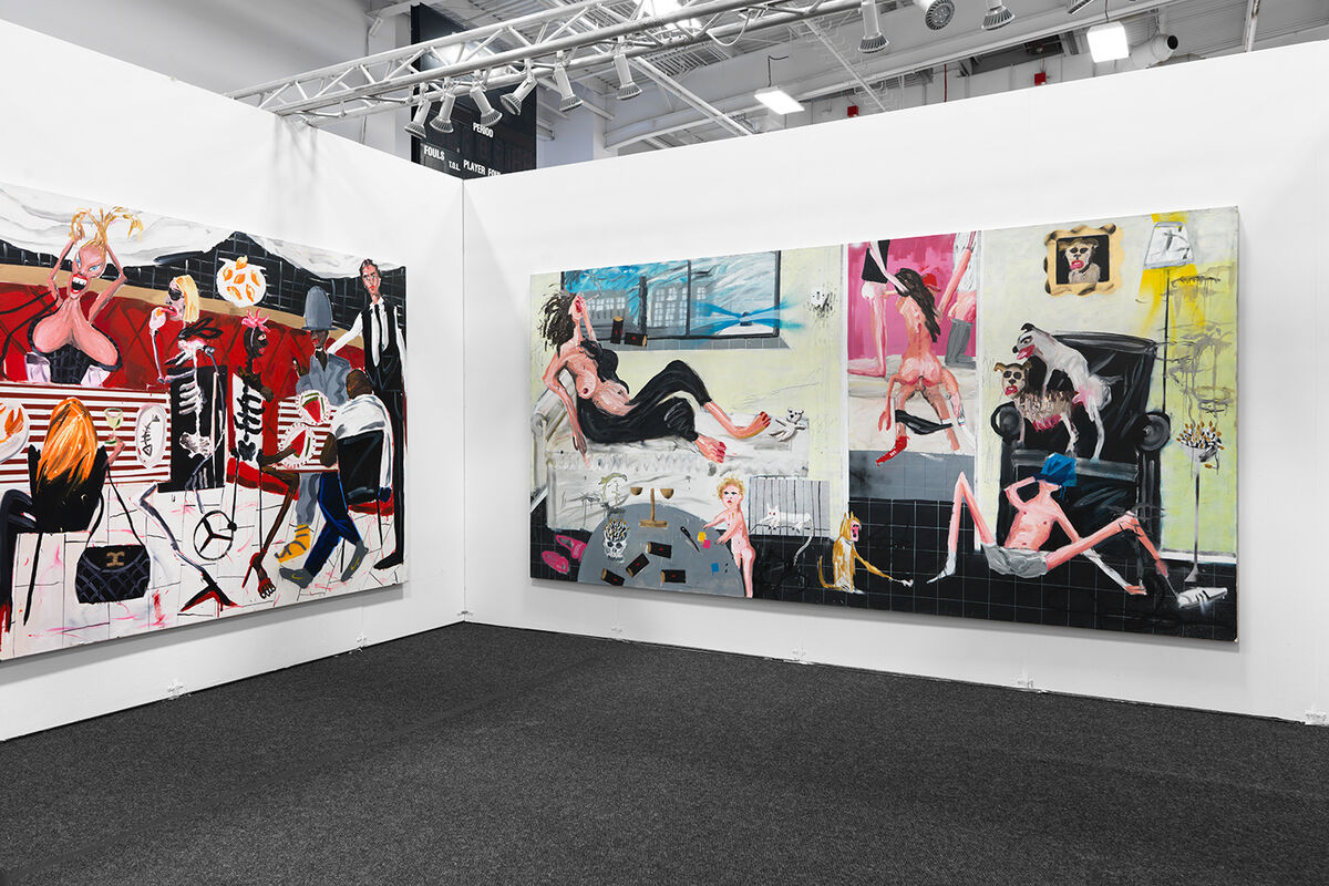 Installation view of Edel Assanti's booth at NADA New York, 2016.Photo by Object Studies for Artsy.