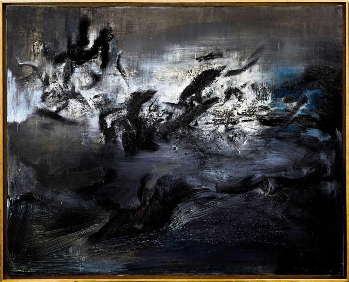 Zao Wou-Ki,  21.04.59 , 1959. Courtesy of Sotheby's.