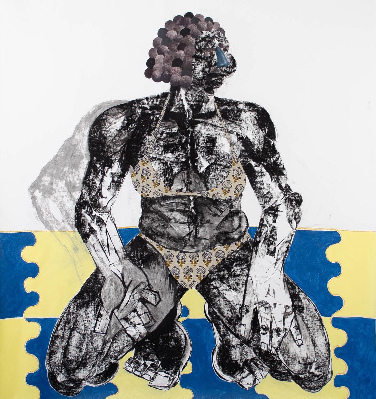 Clotilde Jiménez, Pose No. 7, 2020. Courtesy of the artist and Mariane Ibrahim Gallery.