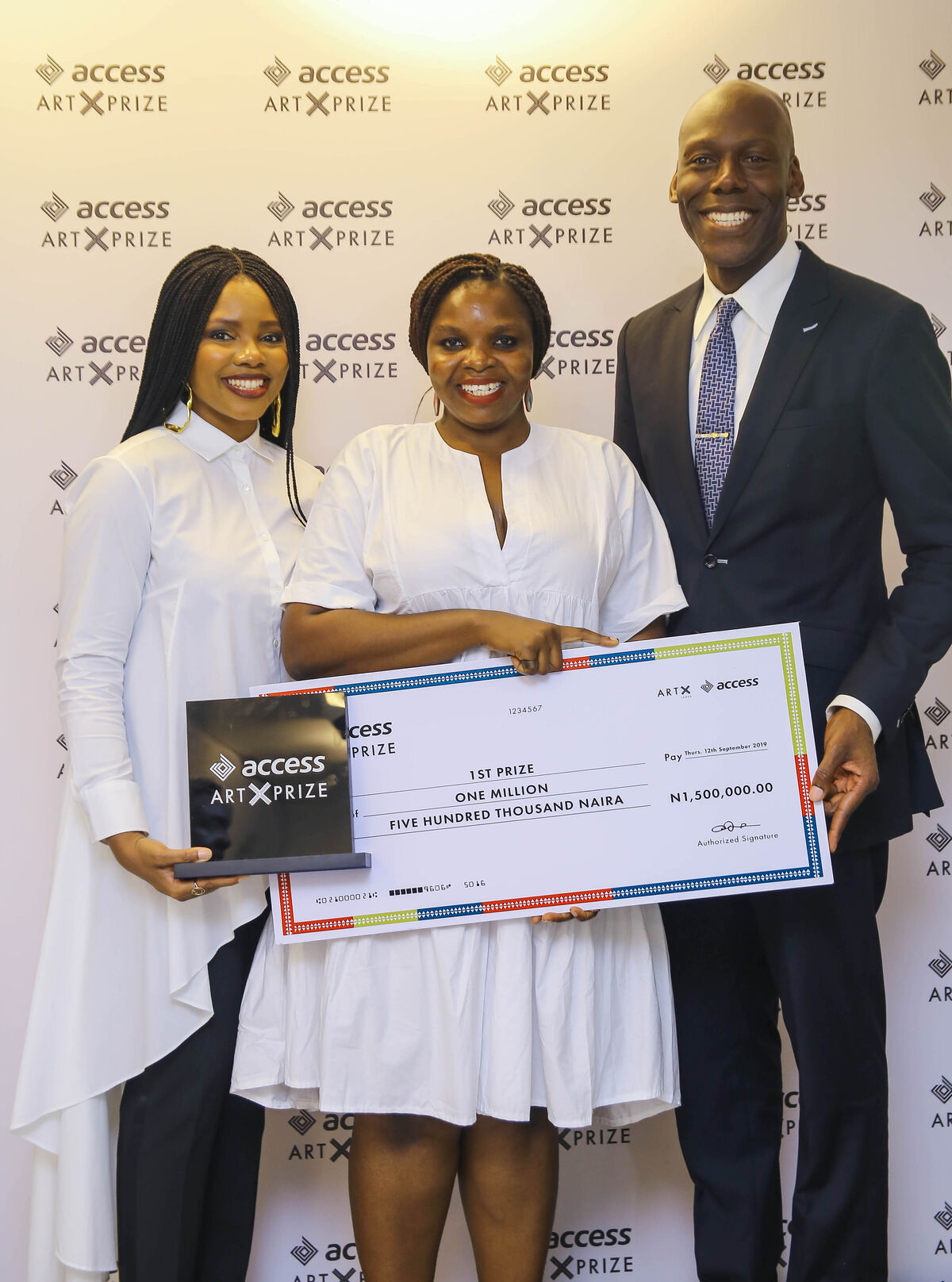 The 2019 Access Bank ART X Prize was won by documentary photographer Etinosa Yvonne. Courtesy of ART X Lagos 2019.