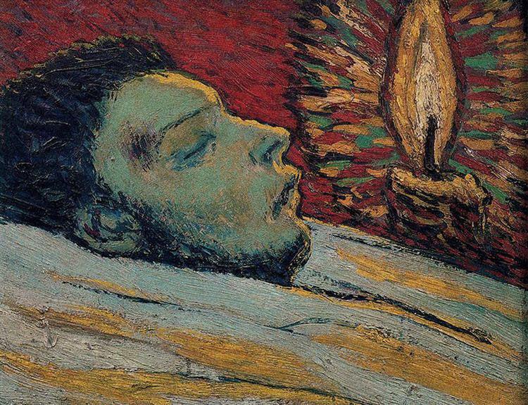 Pablo Picasso, The Death of Casagemas, 1901. © Succession Picasso. Musée Picasso Paris.