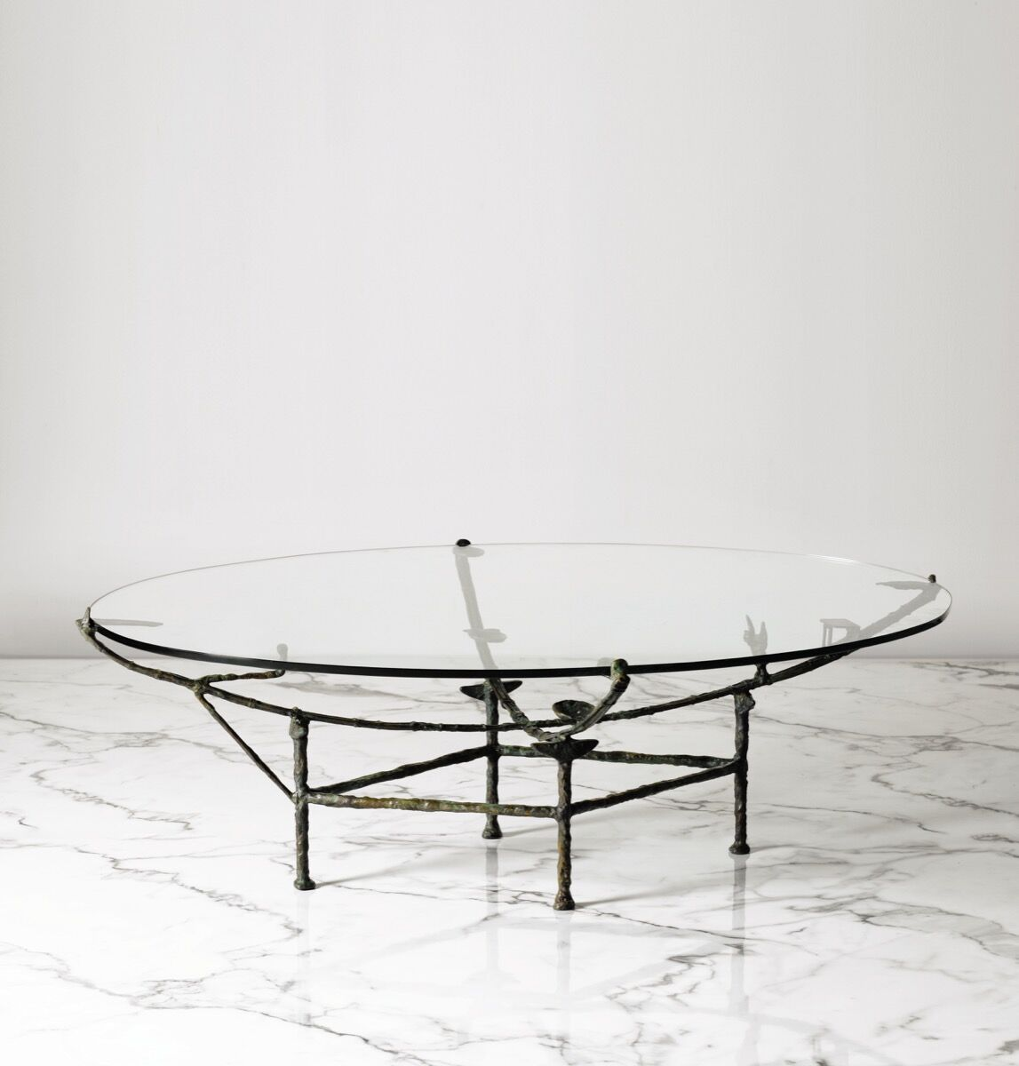 Diego Giacometti, Table Carcasse à la chauve-souris, circa 1970. Image courtesy of Sotheby's – Art Digital Studio.