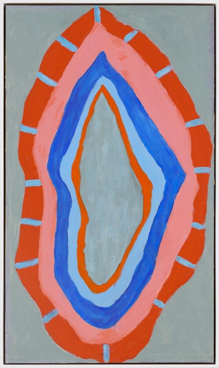 Betty Parsons, Flame, 1967. Courtesy of Alexander Gray Associates. © Betty Parsons Foundation.