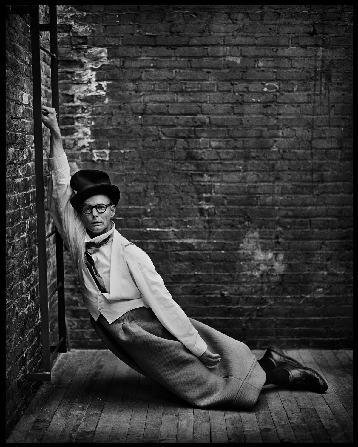 Mark Seliger, Bill Irwin, New York, New York, 2002. Courtesy of the artist.