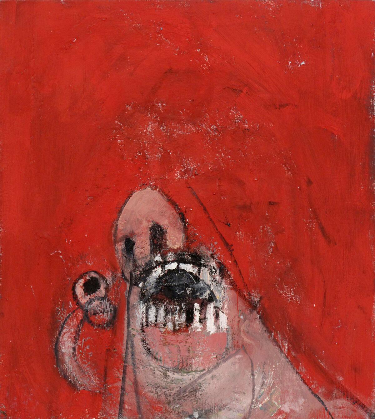 Jonas Wood, Untitled, 2002. © Jonas Wood. Courtesy of the artist.