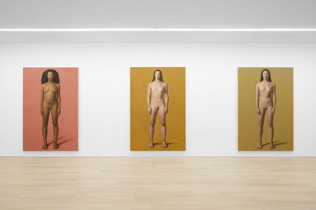 "Installation view of Kurt Kauper, ""Women,"" at Almine Rech Gallery. Courtesy of Almine Rech Gallery."