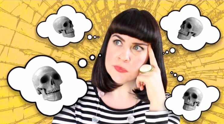 Caitlin Doughty, founder of The Order of the Good Death. Photo by The Order of the Good Death via Facebook.