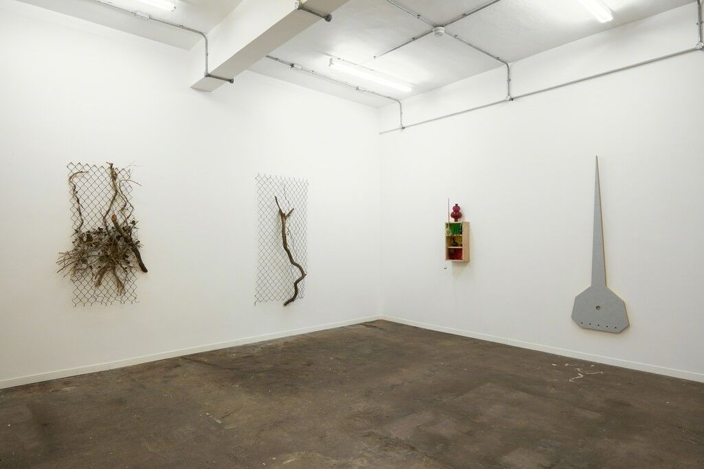 "Installation view of ""Obect Painting – Painting Object,"" courtesy Jonathan Viner."