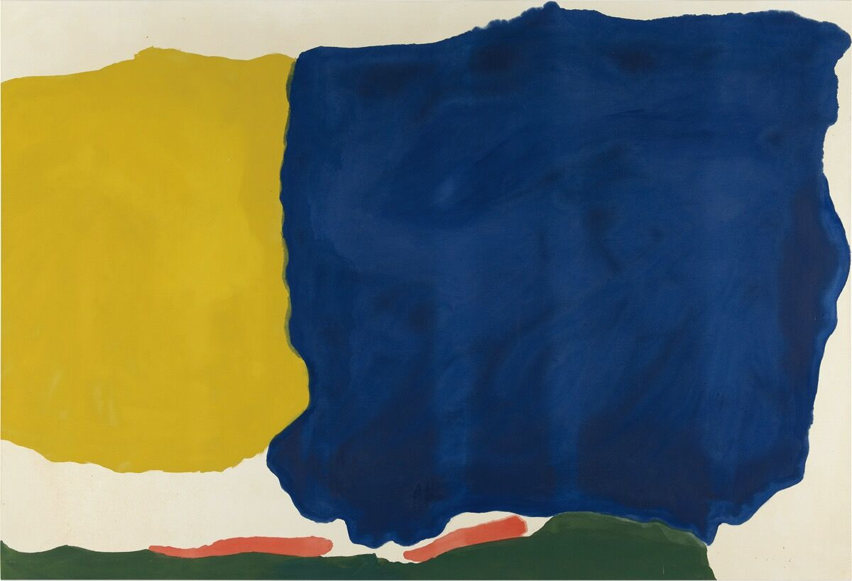 Helen Frankenthaler, Head of the Meadow, 1967. Courtesy of Phillips.