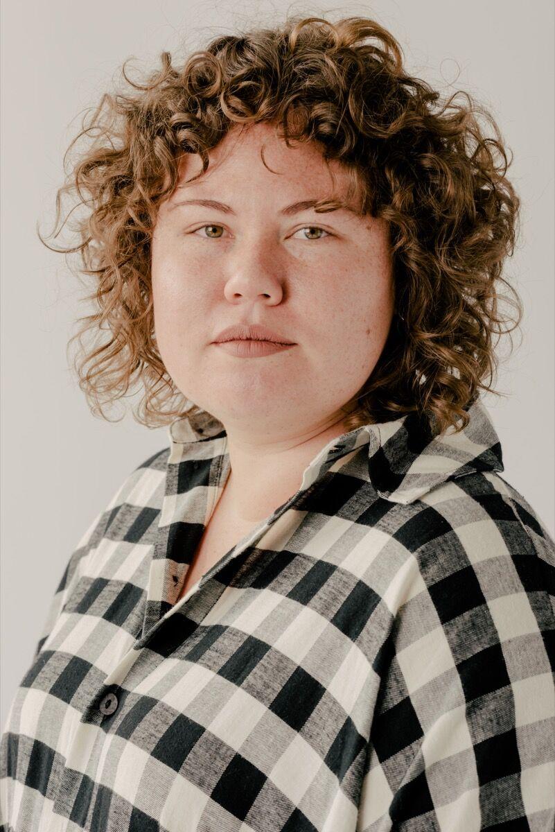 Portrait of Christina Quarles by Daniel Dorsa. Courtesy of Regen Projects, Los Angeles; and Pilar Corrias, London.