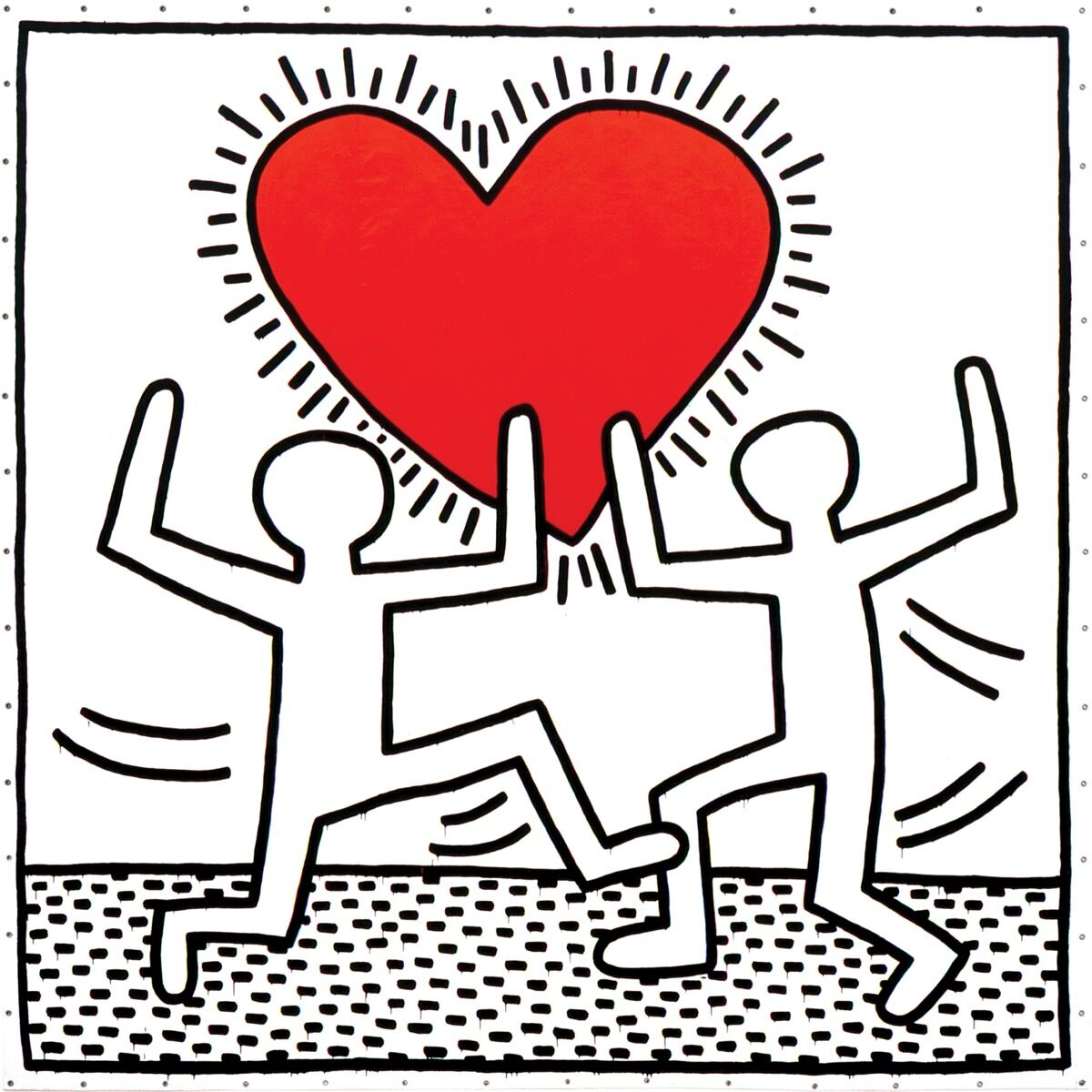 Keith Haring, Untitled, 1982. © Keith Haring Foundation.