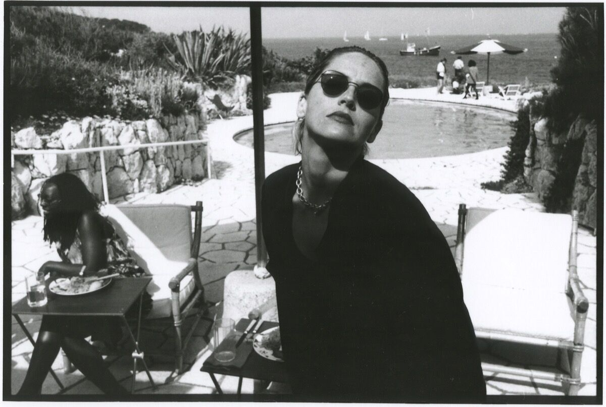 Jean pigozzi sharon stone 1992 courtesy of galerie