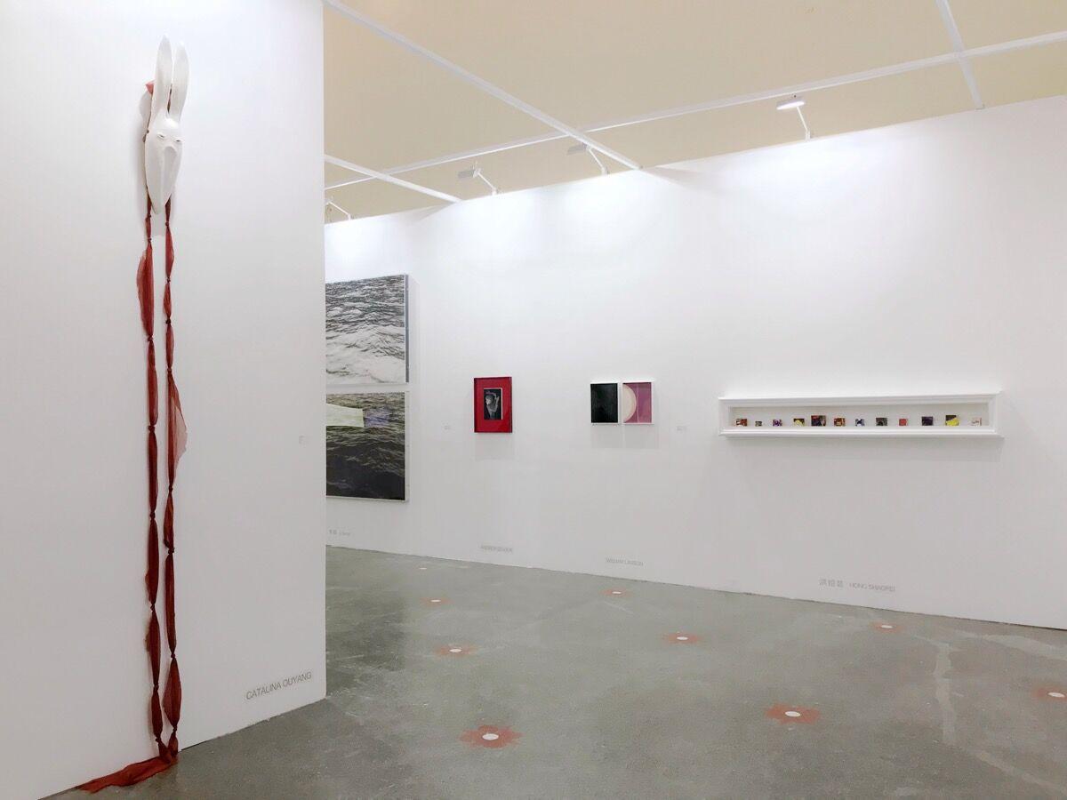 Installation view of Beijing Art Now Gallery's booth at Art021, 2018. Courtesy of Beijing Art Now Gallery.